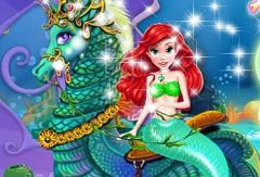 Mermaid Princess Horse Caring