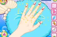 Mermaid Princess Nail Salon