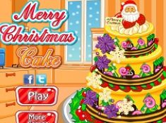 Merry Christmas Cake Decoration