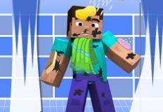 Messy Steve From Minecraft