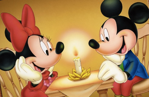 are mickey and minnie mouse dating