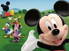 Mickey Mouse and Friends Puzzle
