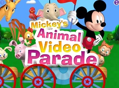 Mickey Mouse Animal Video Parade