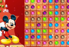 Mickey Mouse Candy Match