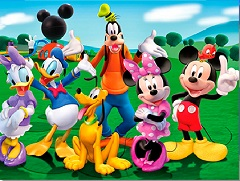 Mickey Mouse Clubhouse Jigsaw