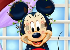 Mickey Mouse Face Spa