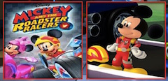 Mickey Mouse Roadster Racers Memory