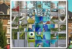 Mike and Sulley Puzzle