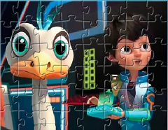 Miles and Friends Puzzle