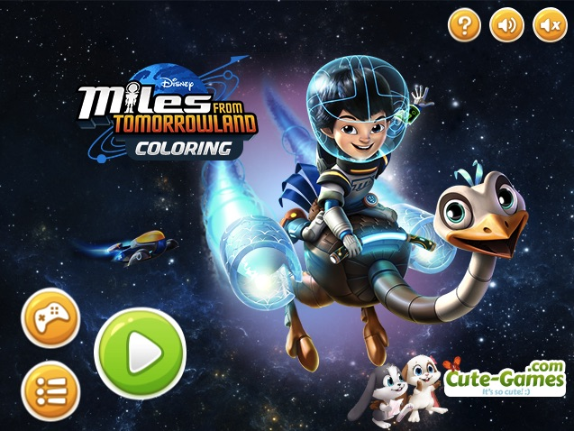 Miles From Tomorrowland Coloring