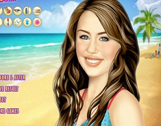 Miley Cyrus Summer Makeover