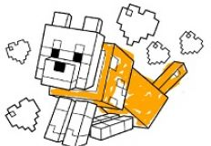 Minecraft Coloring 2