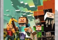 Minecraft Jigsaw Puzzle