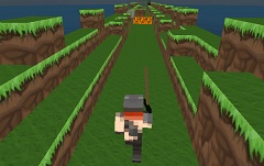 Jogo Minecraft Run 3D