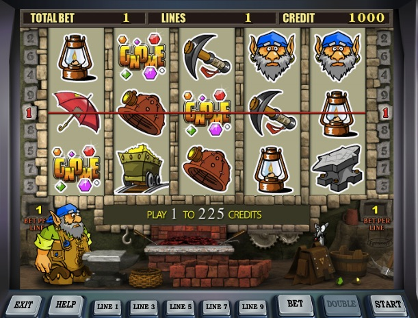 Gold Miners Slot - Free Online MrSlotty Slots Game