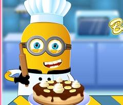 Minion  Banana Cake