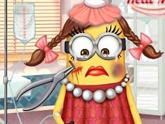 Minion Girl Injured