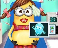 Minion Girl Pregnant Ambulance