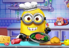 Minion Real Cooking