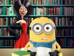 Minion School Slacking