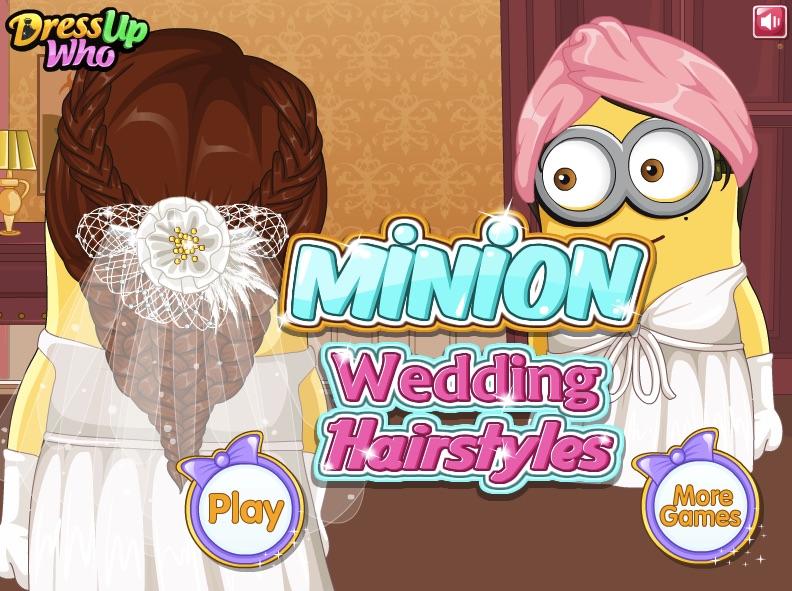 Minion Wedding Hairstyles