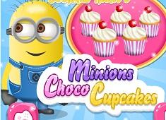 Minions Choco Cupcakes