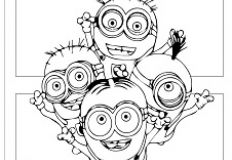 Minions Friends Coloring