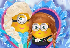 Minions Frozen Design