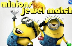 Minions Jewel Match