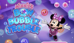 Minnie Bow Bubble Trouble