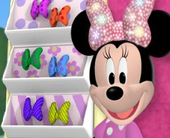 Minnie Mouse Butterfly Bow Hunt