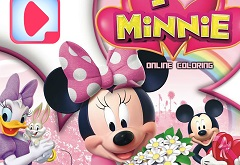 Minnie Mouse Coloring