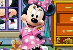Minnie Mouse House Makeover