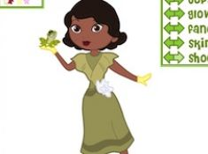 Mix and Match Princess Tiana