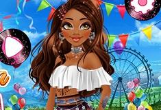 Moana at Coachella Festival