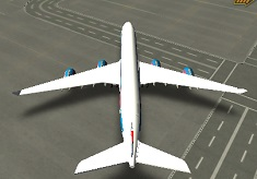 Modern Aircraft 3D Parking