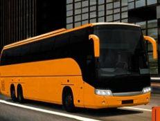 Modern Bus Parking