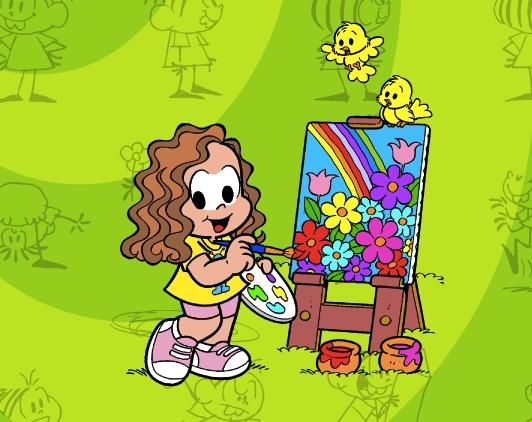 Monica Picture Coloring