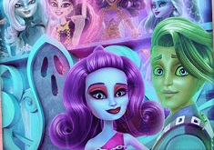 Monster High Haunted Boooth