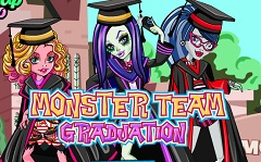 Monster High Team Graduation
