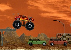 Monster Truck Car Destroyer