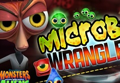 Monsters vs Aliens Microbe Wrangler