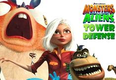 Monsters vs Aliens Tower Defense
