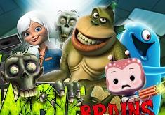 Monsters vs Aliens Zombie Brains