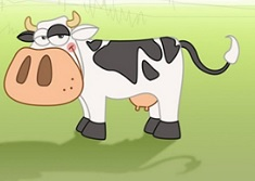 Mow Mow Cow Coloring