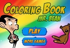 Mr Bean Coloring Book