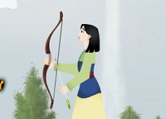 Mulan Bow and Arrow Shooting