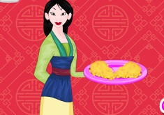Mulan Cooking Chinese Pie