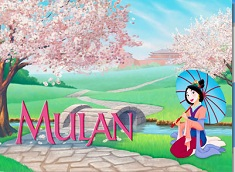 Mulan in the Garden Puzzle