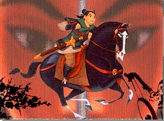 Mulan Riding Puzzle